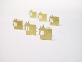 Schwabacher Stadtlogo, 925/-, 900/- Gold