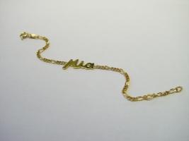 Namenarmband, 585/- Gold