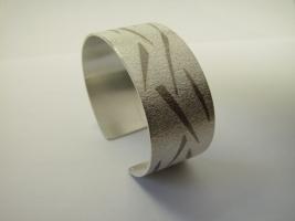 Armreif, 925/- Silber, Palladium