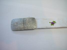 Trachtenschließe, 925/- Silber