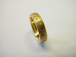Ring, 750/- Gold, Brillanten