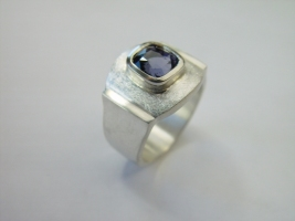 Ring, 925/- Silber, Spinell