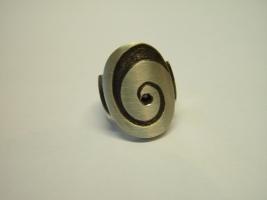 Ring, 925/- Silber, Granat