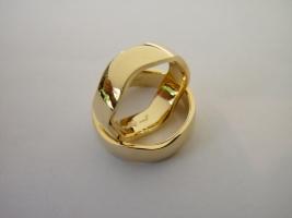 Trauringe, 750/- Gold