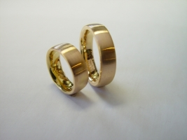 Trauringe, 750/- Rosegold