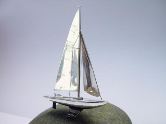 Segelschiff - Das fertige Werk